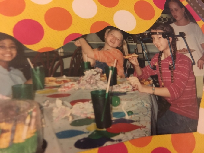 11th birthday party in 2003